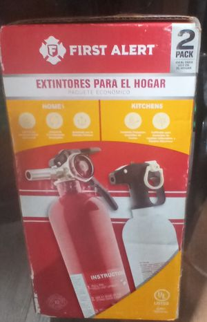 First Alert Home Fire Extinguishers (2 Pack) for Sale in Raleigh, NC