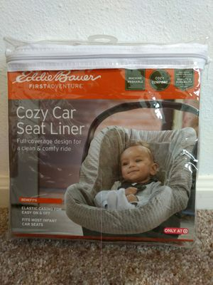 Eddie Bauer Cozy Car Seat Liner (NEW) for Sale in Eugene, OR