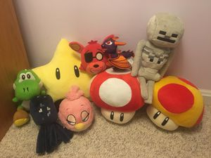 Video Game Plushies for Sale in Woodbridge, VA