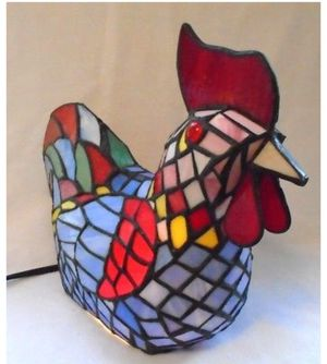 Stained glass lamp for Sale in Westminster, MD