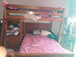 Wooden bunk bed for Sale in Woodbridge, VA