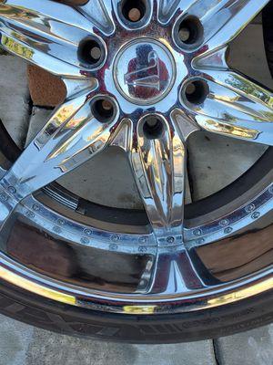 24 inch rims for Sale in Riverside, CA