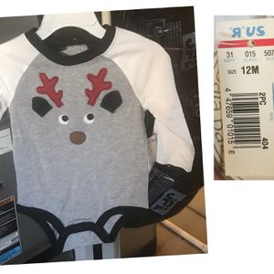 New 12 Months Reindeer Onesie for Sale in Commerce City, CO