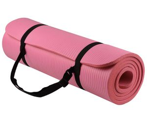 BalanceFrom GoYoga All-Purpose 1/2-Inch Extra Thick High Density Anti-Tear Exercise Yoga Mat with Carrying Strap for Sale in Sellersburg, IN