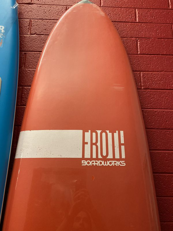 Boardworks Froth! Soft Top Surfboard | Wake Surf Surfboard 9' Length