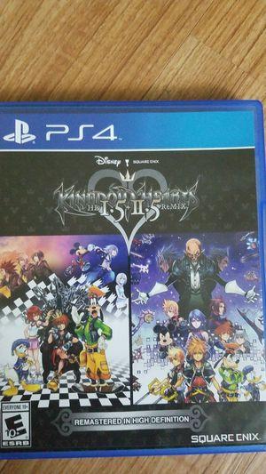 Kingdom hearts HD 1.5 + 11.5 remix for Sale in Federal Way, WA