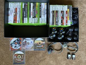 40 Xbox 360 Games with Controllers and More!!! for Sale in Eau Claire, WI