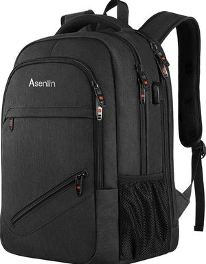 Laptop Backpack,Business Travel Slim Durable Laptops Backpack with USB Charging Port,Water Resistant College School Computer Bag for Women & Men Fits for Sale in Piscataway, NJ