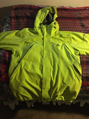 Large Nike ACG Coat with Matching Sz 12 Green Foams for Sale in Washington, DC