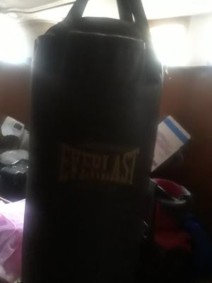 Everlast punching bag for Sale in Elgin, IL
