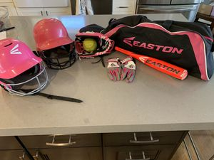 Lot of Girl' Softball Gear - good to like new condition for Sale in San Mateo, CA