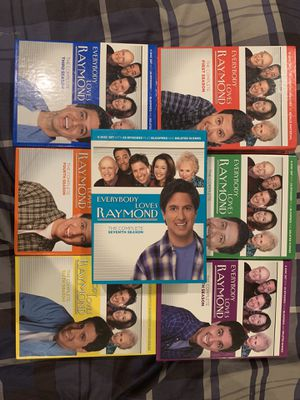Everybody loves Raymond season 1-7 for Sale in Campbell, CA