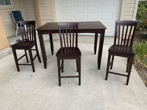 Dinner Table and Three Chair Set for Sale in San Diego, CA