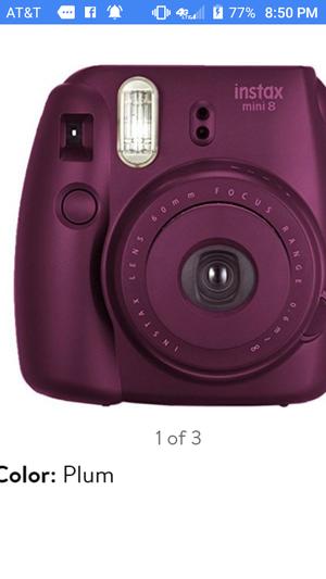 New Fujifilm Instax Mini 9-plum for Sale in Alexandria, VA