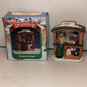 NOMA Dickensville Collectibles Porcelain Toy Stand for Sale in Salem, OR