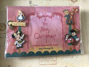 Disney Catalog 2002 Advent Calendar Pin Series Set #3 for Sale in Wheaton, IL