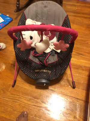 Hello kitty bounce chair for Sale in Baltimore, MD