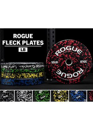 Rogue Fitness FLECK Bumper Plates- 260Lbs Complete Set for Sale in Los Angeles, CA