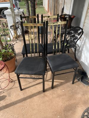 4 kitchen chairs for Sale in Abilene, TX