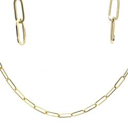 14kt Gold Paper Clip Set for Sale in Los Angeles,  CA