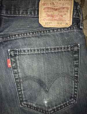 LEVIS MENS 527 BOOTCUT SLIM JEANS SIZE 32x30 FOR $25 for Sale in Huntington Beach, CA