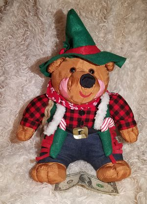 Vintage Rare 1994 International Silver Co. Christmas cowboy bear for Sale in Dale, TX