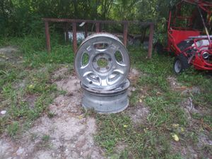 4 - 15inch rims/ 5lug for Sale in Loxahatchee, FL