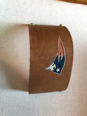 Patriots Hand painted leather koozie for Sale in Washington, DC
