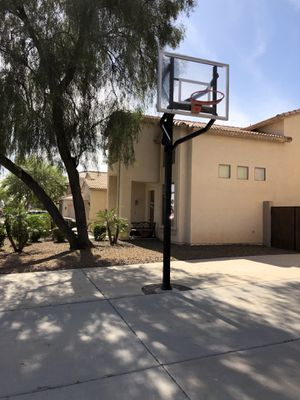 Huffy Hydra Rib In-ground Basketball Hoop for Sale in Scottsdale, AZ