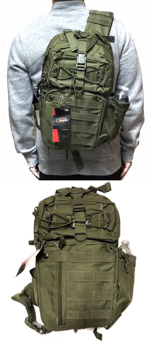 NEW! Tactical Military Style Backpack Sling Side Crossbody Bag gym bag work bag travel luggage school bag camping fishing travel hiking bag Sling bag for Sale in Carson, CA