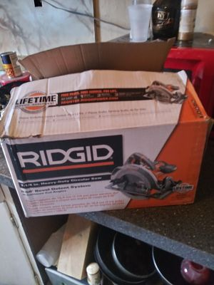 Ridgid Circular Saw 7 - 1/4 inches (NEW) for Sale in Miami, FL