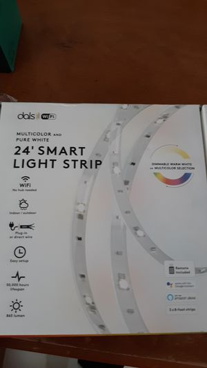 24ft strip smart light. With remote. Brand new for Sale in Riverside, CA