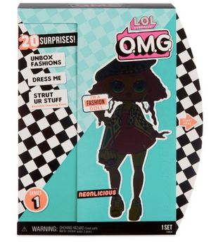 L.o.l surprise o.m.g neonlicious doll new for Sale in Fort Lauderdale, FL