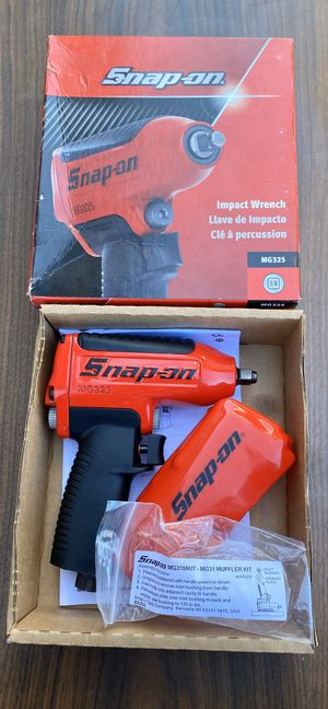 """Snap On 3/8"""" Drive Air Impact Wrench (((( $325 OBO )))) ❗️Brand new ❗️ for Sale in Riverside, CA"""
