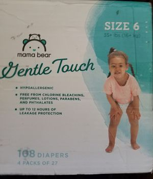 Size 6 diaper, 108ct for Sale in Victorville, CA