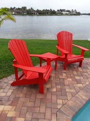 Adirondack Patio furniture for Sale in Miami, FL