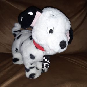 """Disney Applause 9"""" 101 Dalmatians Lucky #7 Domino Stuffed Animal for Sale in Los Lunas, NM"""