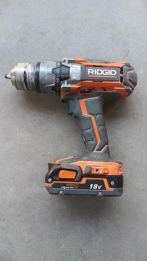 RIDGID hammer drill 18v for Sale in Avondale, AZ