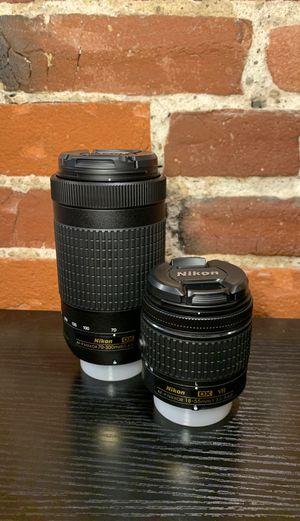 Nikon DSLR lenses(brand new) for Sale in Cambridge, MA