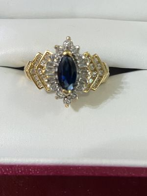 Sapphire & Diamond Ring for Sale in Acworth, GA