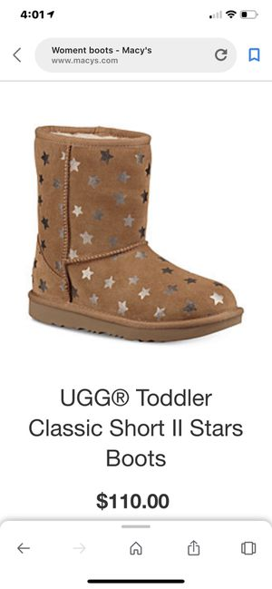 Ugg toddler boots for Sale in Hialeah, FL