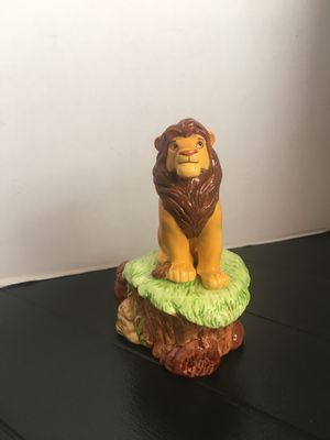 """Schmid-Disney-The Lion King-Simba-""""Circle of Life""""- Music Box Figurine-1994- plays great for Sale in Wilmington, CA"""