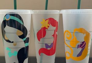 Starbucks cup Disney inspired!!! for Sale in Los Angeles, CA