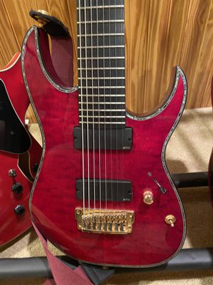 Ibanez Iron Label 8 string guitar for Sale in Kingsport, TN