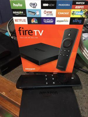 Amazon Fire tv box for Sale in Fresno, CA