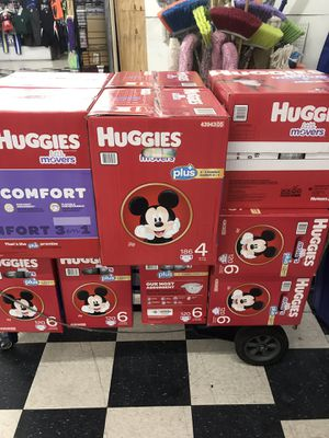 Huggies $45 cajas grandes for Sale in Las Vegas, NV
