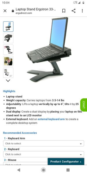 Notebook lift stand for Sale in North Kansas City, MO