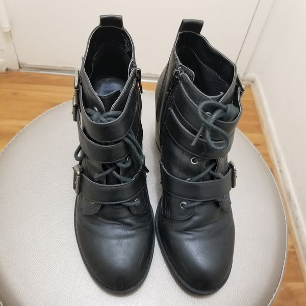 DIBA Womens leather Boots Size Size 8