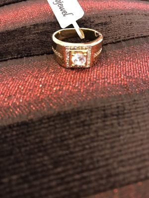 🌸 ON SALE🌸 🤩Unisex 18K Gold plated Engagement/Wedding Ring for Sale in Houston, TX