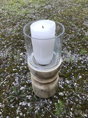 10 large candle holders - 3 without glass for Sale in Pine River, MN